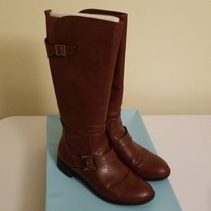 LifeStride Spell knee high boots in tan size 9.5